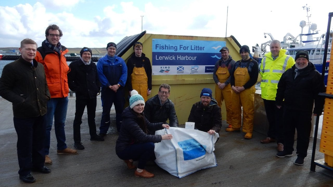 New skips to mark 15 years of successful marine litter scheme