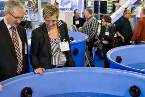 Fish fair with new exhibitors and new topics.  Photo: aquakultur - Messe Bremen - @ Fiskerforum
