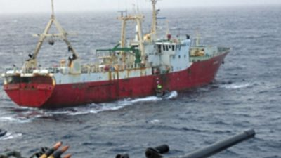 Illegal fishing (IUU)