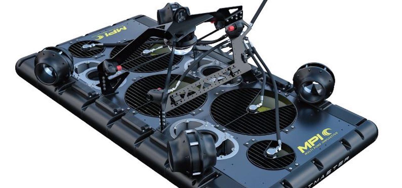 MPI's new JetMaster prototype at AquaNor 2019