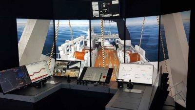 Fishing companies donate simulator to training institute