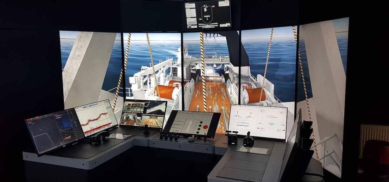Fishing companies donate simulator to training institute