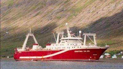 Samherji sells trawler to Russia