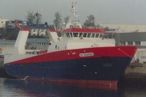 Deep water trawler Mariette le Roch - @ Fiskerforum