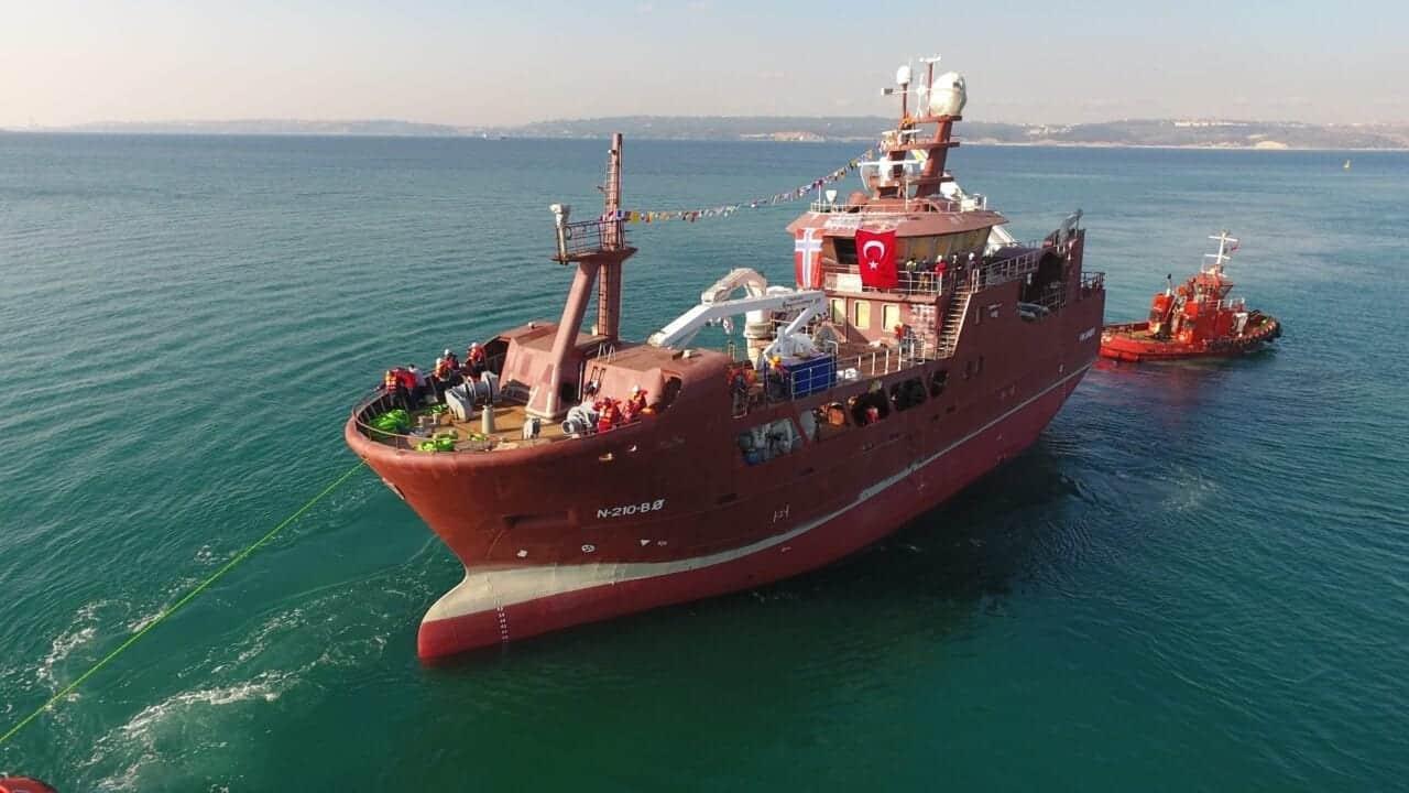Özata Shipyard launches new Vikanøy