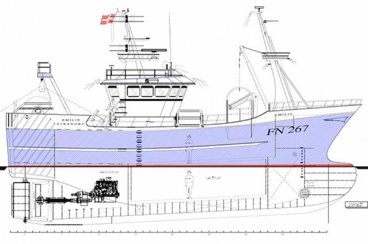 Sophisticated new trawler from Danish yard