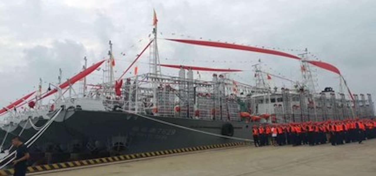 Pingtan sends ten new jiggers to international waters