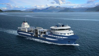 Salt designs new live fish carrier for Alsaker Fjordbruk