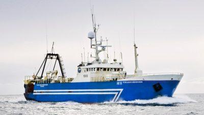 Heavy fishing off S-W Iceland