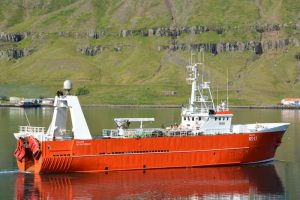ullver leaving Seyðisfjörður this summer. Image: SVN/Ómar Bogason - @ Fiskerforum