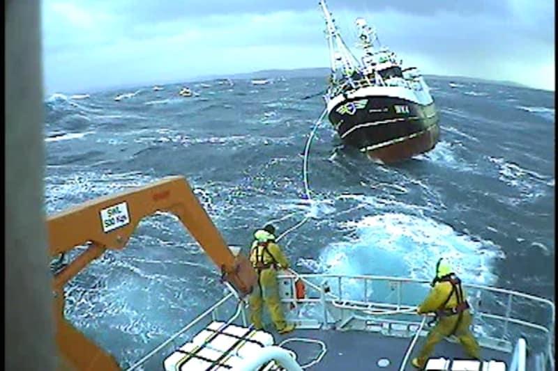 Thurso lifeboat's nine-hour shout